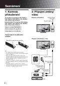 Sony KDL-40D2600 - KDL-40D2600 Istruzioni per l'uso Ceco - Page 4