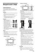 Sony KDL-40D2600 - KDL-40D2600 Istruzioni per l'uso Ceco - Page 7