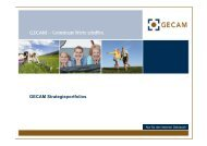 GECAM Strategieportfolios