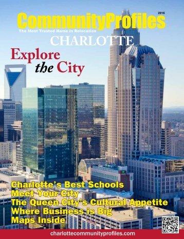 2016 Charlotte CommunityProfiles Magazine