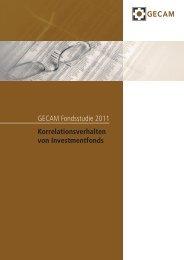GECAM Fondsstudie 2011 Korrelationsverhalten von Investmentfonds