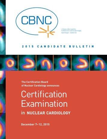 Certification Examination