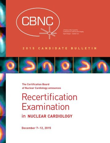 Recertification Examination