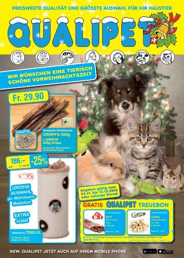 QUALIPET Flyer 5/2015 November / Dezember