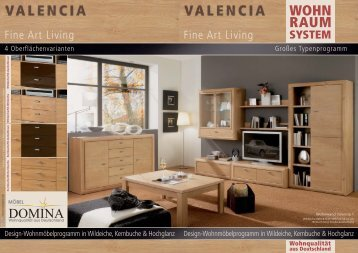 Wohnraumsystem Valencia