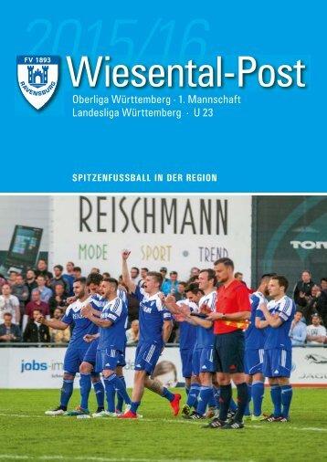 10. Ausgabe Wiesentalpost 2015/16