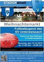 SV Unterweissach - SG Schorndorf