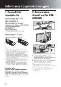 Sony KDL-40X3500 - KDL-40X3500 Istruzioni per l'uso Polacco - Page 4