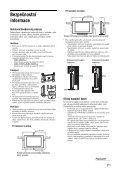 Sony KDL-26U2520 - KDL-26U2520 Istruzioni per l'uso Ceco - Page 7