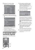 Sony KDL-40S2510 - KDL-40S2510 Istruzioni per l'uso Ceco - Page 6
