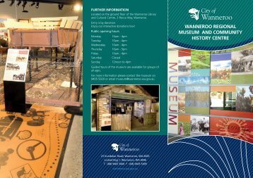 wanneroo regional museum and community ... - City of Wanneroo