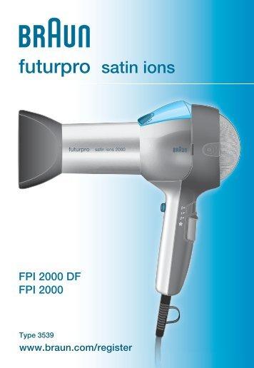 Braun FuturPro Satin Ions ed57b9fa48