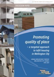 A Targeted Approach to Infill Housing - Wellington City Council