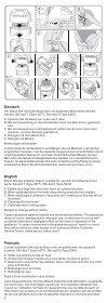 Braun Silk-épil 5-SE 5180, 5185, 5270, 5280, 5380, 5580, 5780, 5-329 - Silk-épil 5&7, 711 DE, UK, FR, ES, PT, IT, NL, DK, NO, SE, FI, PL, CZ, SK, HU, SI, RS, TR, RO, MD, GR, LT, LV, EE, BA, MK, BG, RU, UA, ARAB, 日本語 - Page 2