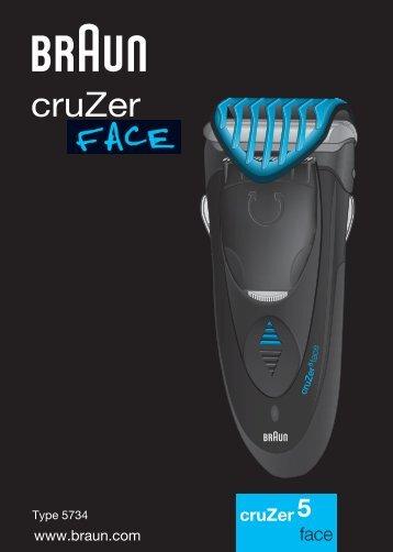 Braun CruZer2, CruZer3, CruZer4 Face, CruZer5 Face-Z40, Z50, 2778, 2878 - CruZer5, face RO