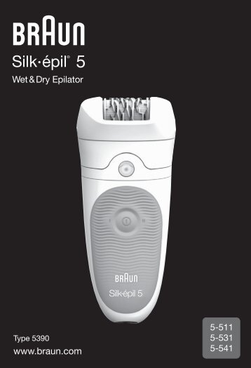 Braun Braun Lighted Tweezer (Silk-épil 5, 5390)-Braun Lighted Tweezer - 5-511, 5-531, 5-541, Silk-épil 5 DE, UK, FR, ES, PT, IT, NL, DK, NO, SE, FI, PL, CZ, SK, HU, HR, SI, TR, RO, GR, BG, RU, UA, ARAB