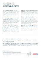 """Folder """"Ihr Weg in die Zeitarbeit"""" - Seite 5"""