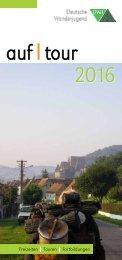 AufTour 2016 - Deutsche Wanderjugend Jahresprogramm (Auswahl)