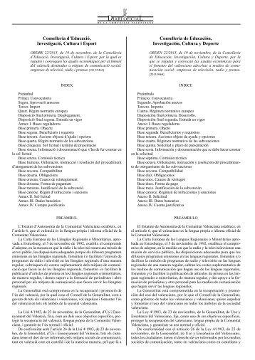 novembre ciutadans aprobada compromiso lenguas formación promoción