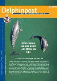 Schweinswale tummeln sich in Jade, Weser und Elbe