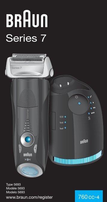 Braun Series 7, Pulsonic Pro-System Plus-760cc, 760cc-3, 765cc, 765cc-3, 760cc-4, 760cc-5, 760cc-6, 760cc-7, 765cc-4, 765cc-5, 765cc-6, 765cc-7 - 760cc-4, Series 7 UK, FR, ES (USA, CDN, MEX)