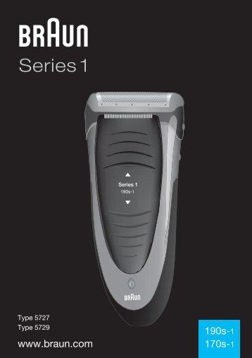 Braun Series 1, FreeControl-170, 170s-1, 1715 - 190s-1, 170s-1, Series 1 RO