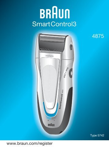 Braun Series 1, Series 3, SmartControl3, SmartControl Sportive, SmartControl Pro-340, 4775, 4875, 4876, 199s-1 - 4875, SmartControl3 CHIN