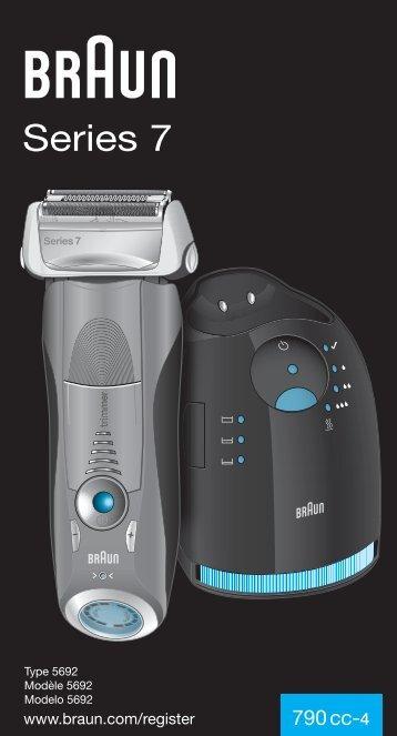 Braun Series 7-790cc, 790cc-3, 790cc-4, 790cc-5, 790cc-7,795cc-3, Limited Edition 2010, -2011, -2012, Porsche, Boss - 790cc-4, Series 7 UK, FR, ES (USA, CDN, MEX)