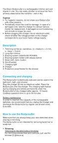 Braun BodyCruZer, CruZer5 Body, CruZer6 Body-B30, B35, B50, B55 - BodyCruzer UK, FR, ES (USA, CDN, MEX) - Page 7