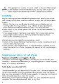 Braun Series 3 wet&dry-380s-4, 3040, 3045, 3080 - 380s-4, 340s-4, Series 3 UK, LT, LV, EE - Page 7