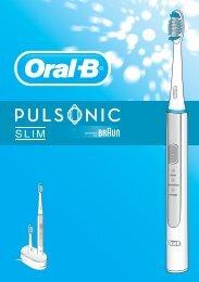 Braun Pulsonic Slim-S15.500 - Pulsonic Slim DE, UK, FR, ES, PT, IT, NL, DK, NO, SE, FI, GR