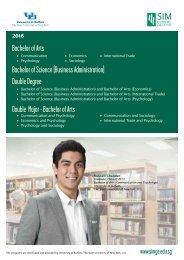 Bachelor of Arts - SIM Global Education