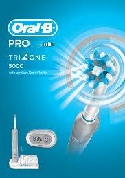 Braun Trizone 5000, PRO Trizone 5000-D21.500 - PRO TriZone 5000 with wireless SmartGuide DE, UK, FR, ES, PT, IT, NL, DK, NO, SE, FI, GR