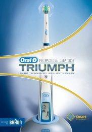 Braun Professional Care 9000 Triumph, Professional Care 9400 Triumph, Professional Care 9500 Triumph-D25.500 - Triumph Professional Care 9500 DK, NO, SE, FIN