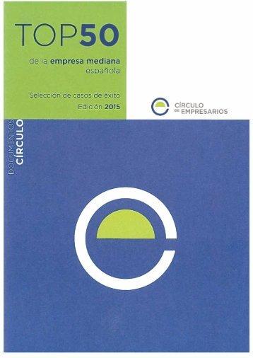 Top 50 de la empresa mediana española Selección de casos de éxito