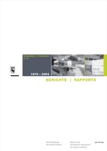 Berichte 1979–2004 (Vorschau)
