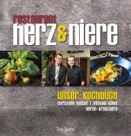 Restaurant herz&niere - Unser Kochbuch