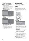 Sony KDL-20S4020 - KDL-20S4020 Istruzioni per l'uso Slovacco - Page 6