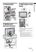 Sony KDL-26S2010 - KDL-26S2010 Istruzioni per l'uso Ceco - Page 5