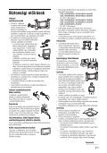 Sony KDL-26S2010 - KDL-26S2010 Istruzioni per l'uso Ungherese - Page 7