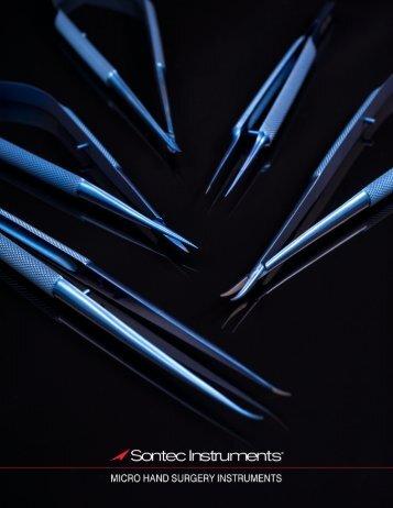 Micro Scissors Long 14 mm Blades Round Handle Titanium