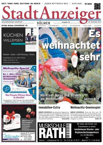 Stadtanzeiger Dülmen KW 48