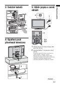 Sony KDL-32S2020 - KDL-32S2020 Istruzioni per l'uso Ceco - Page 5