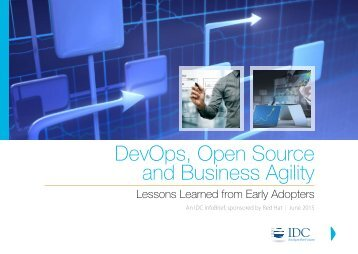 DevOps Open Source and Business Agility