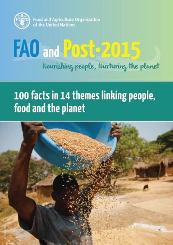 100 facts in 14 themes linking people food and the planet