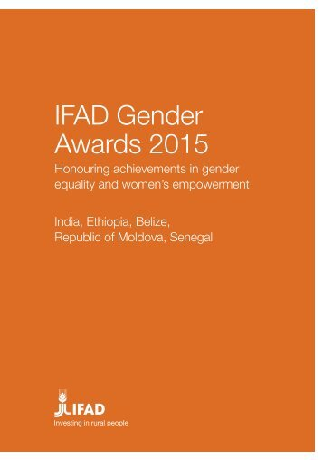 IFAD Gender Awards 2015