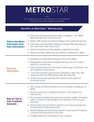 MetroStar Benefits Brochure