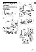 Sony KD-65X9505B - KD-65X9505B Guida di riferimento Turco - Page 7