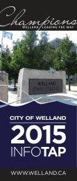 InfoTap Brochure - City of Welland