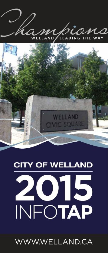 InfoTap Brochure - City of Welland
